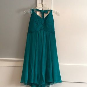 The Limited green/teal dress Size 6